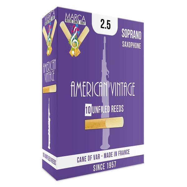 Marca American Vintage Reeds - 10 pack - Soprano Sax - 2.5