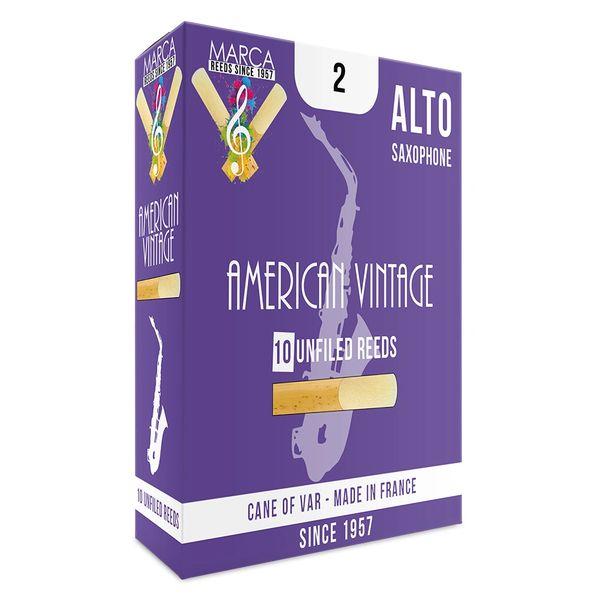 Marca American Vintage Reeds - 10 pack - Alto� Sax - 2