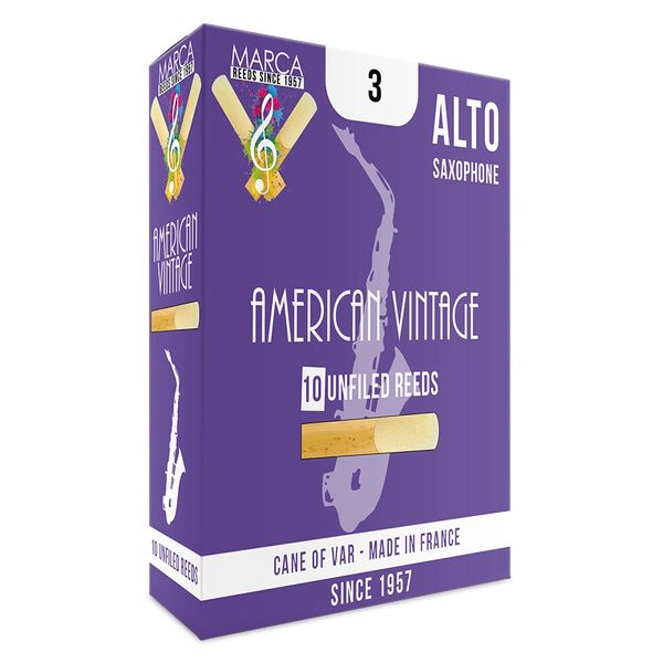 Marca American Vintage Reeds - 10 pack - Alto� Sax - 3