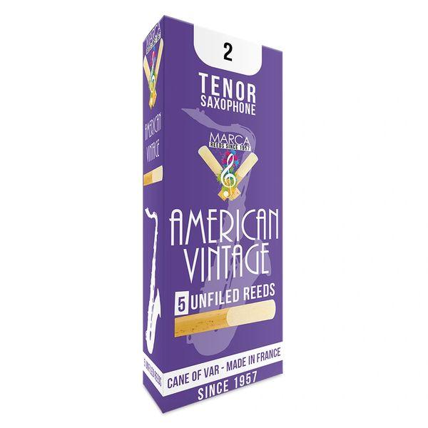 Marca American Vintage Reeds - 5 pack - Tenor� Sax - 2