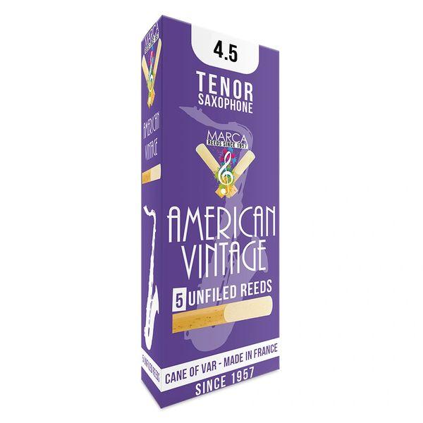 Marca American Vintage Reeds - 5 pack - Tenor� Sax - 4.5