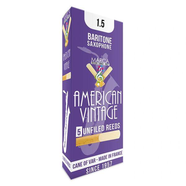 Marca American Vintage Reeds - 5 pack - Baritone� Sax - 1.5