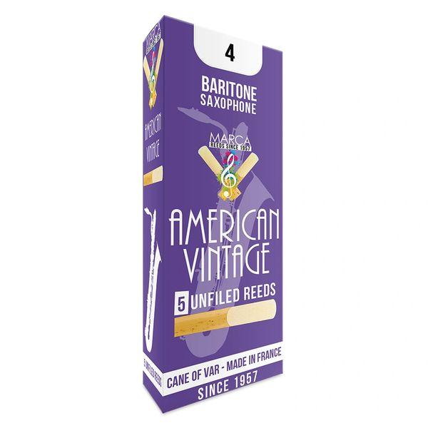 Marca American Vintage Reeds - 5 pack - Baritone� Sax - 4