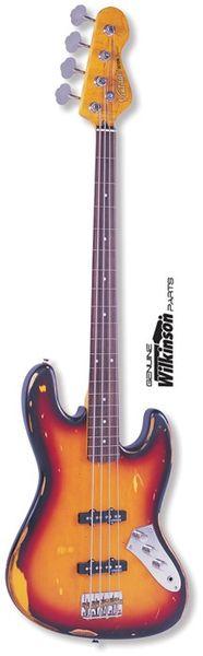 Vintage Icon V74MR JP Fretless Bass