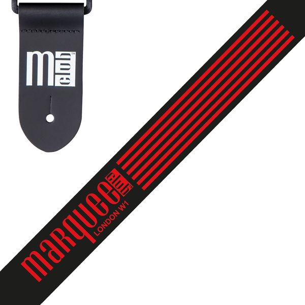 Marquee Club Guitar Strap ~ Classic Stripe
