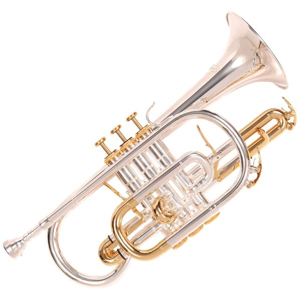 Odyssey Premiere 'Bb' Cornet Outfit -� Silver Plated
