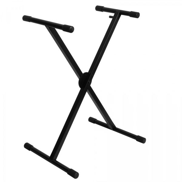 On-Stage Pro Heavy-Duty Single-X Ergo-Lok Keyboard Stand