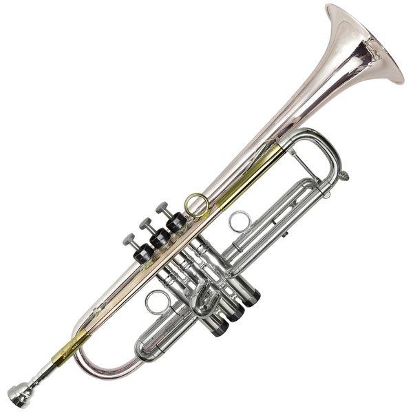 P Mauriat PMT75 Bb Trumpet ~ Titanium Lead Pipe & Bell ~ Silver