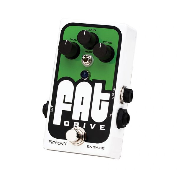 Pigtronix Fat Drive Overdrive Distortion Pedal