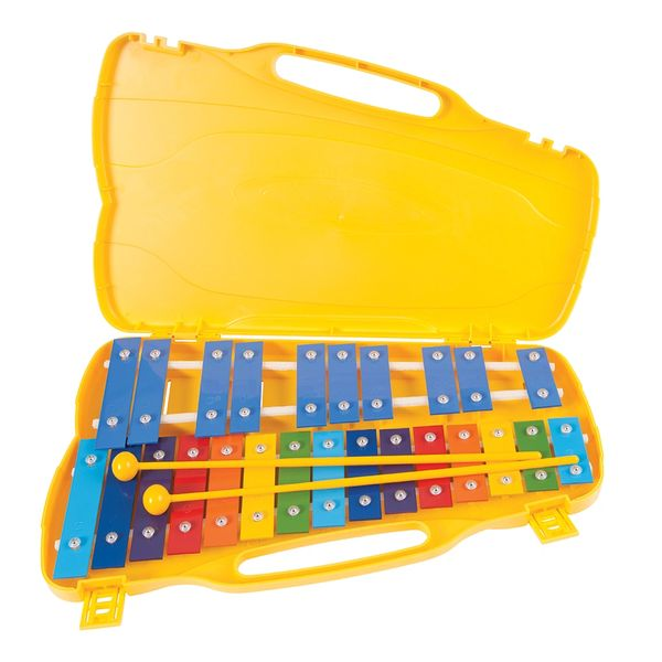 PP World 25 Note Glockenspiel - Coloured Metal Keys