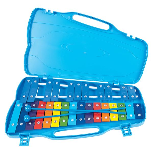 PP World Note Glockenspiel - Coloured Metal Keys