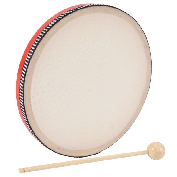 PP World Hand Drum ~ 20cm Red