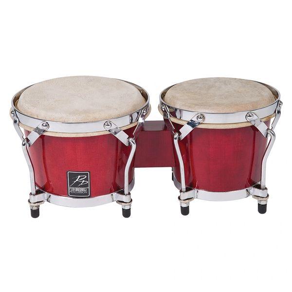 PP World Coloured Bongos ~ Red