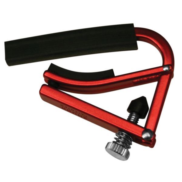 Shubb Lite Guitar Capo ~ Red