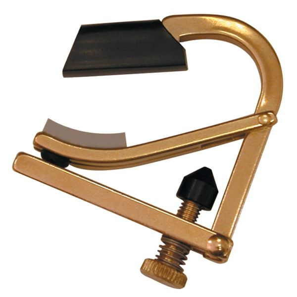 Shubb Partial Capo 2 ~ Brass
