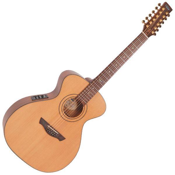 Vintage Gordon Giltrap Signature 12-String Electro-Acoustic ~ Natural