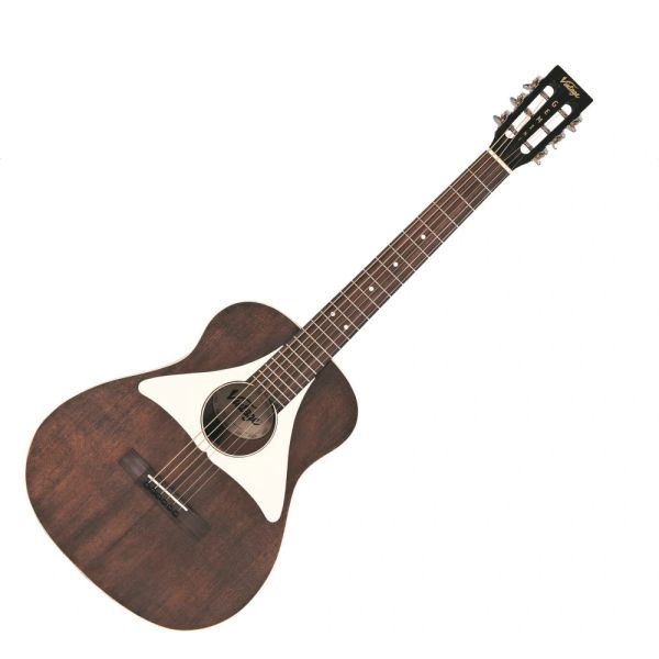 Vintage 'Gemini' Paul Brett Baritone Electro-Acoustic Guitar ~ Antiqued Satin