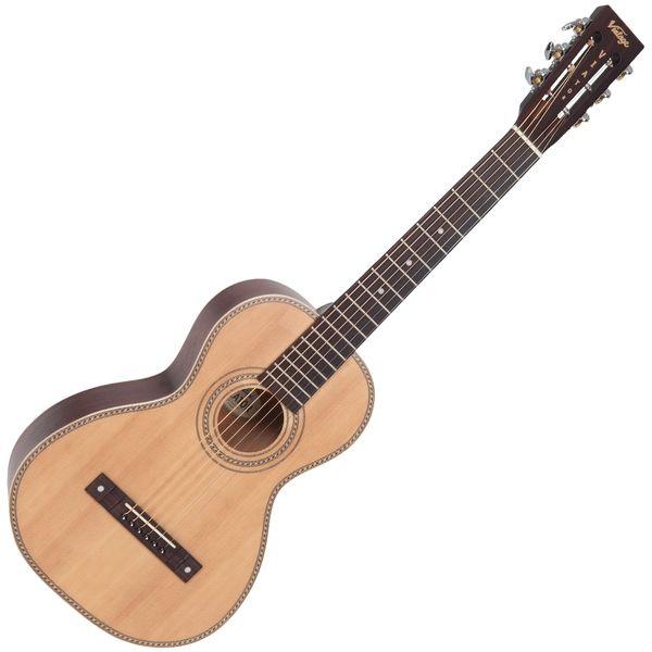 Vintage 'Viator' Paul Brett Acoustic Travel Guitar ~ Natural