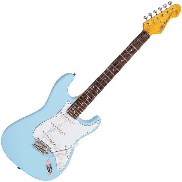 Vintage V6 ReIssued Electric Guitar ~ Laguna Blue