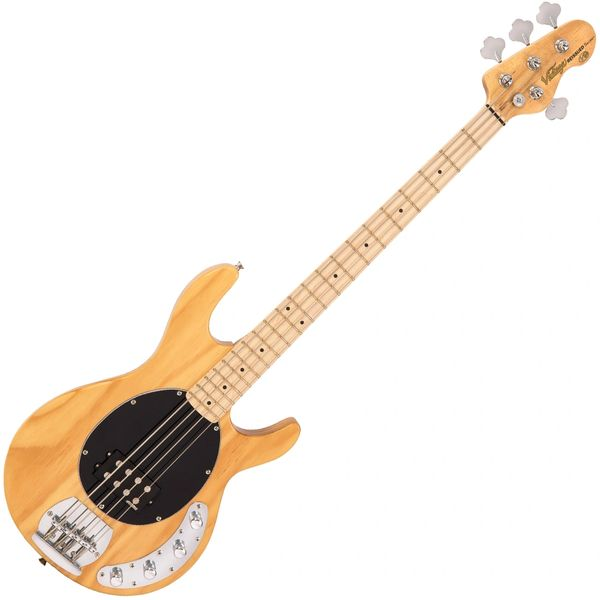 Vintage V96 ReIssued 4-String Active Bass ~ Natural