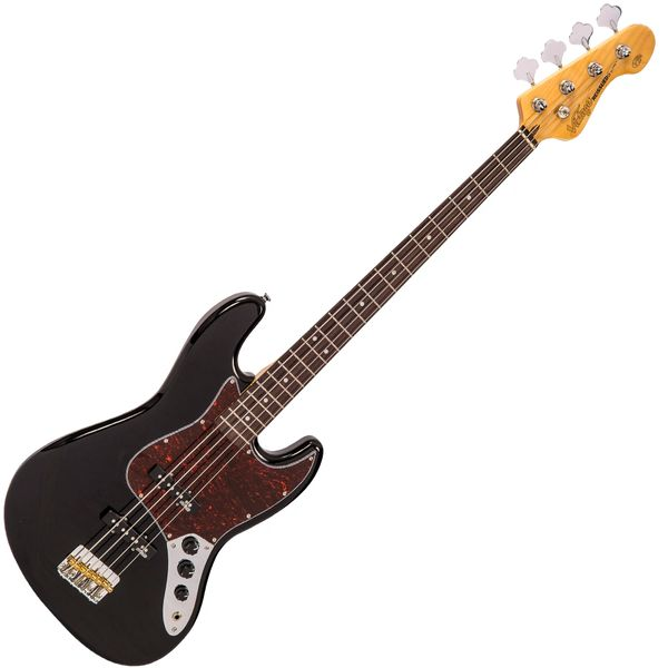 Vintage VJ74 ReIssued Bass ~ Gloss Black