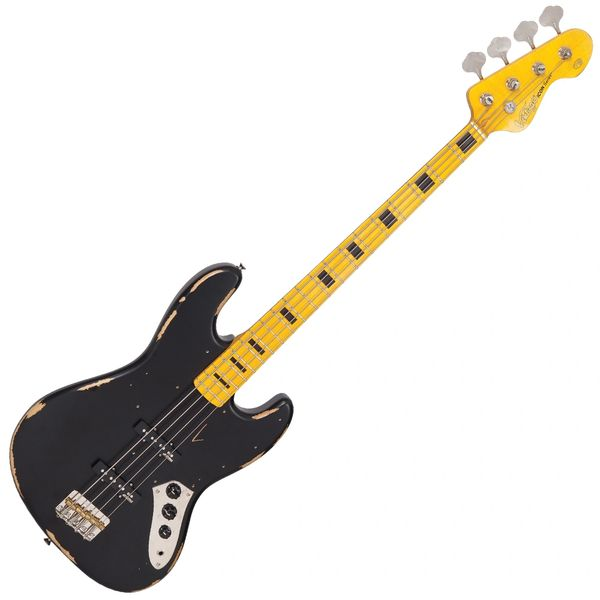 Vintage VJ74 ICON Bass ~ Distressed Black