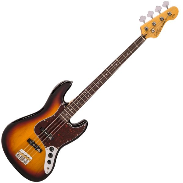 Vintage VJ74 ReIssued Bass ~ Sunset Sunburst