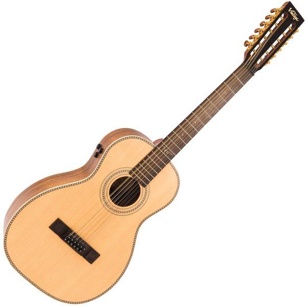 Vintage Paul Brett Signature 12-String 880 Electro-Acoustic ~ Natural