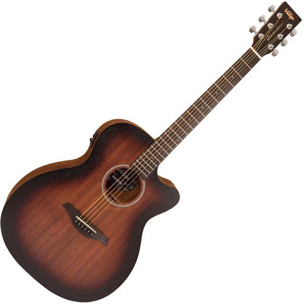 Vintage Statesboro' 'Orchestra' Electro-Acoustic Guitar ~ Whisky Sour