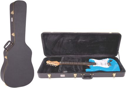 Kinsman Regular Hardshell Guitar/Instrument Case