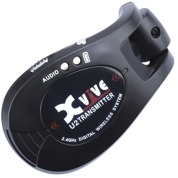 Xvive Wireless Instrument Transmitter ~ Black