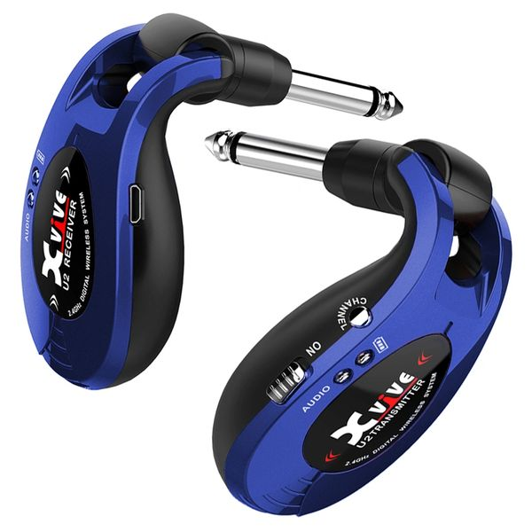 Xvive Wireless Guitar System ~ Blue