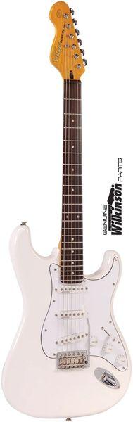 Vintage V6MJH - Hendix Style Flipped Strat-Type Guitar