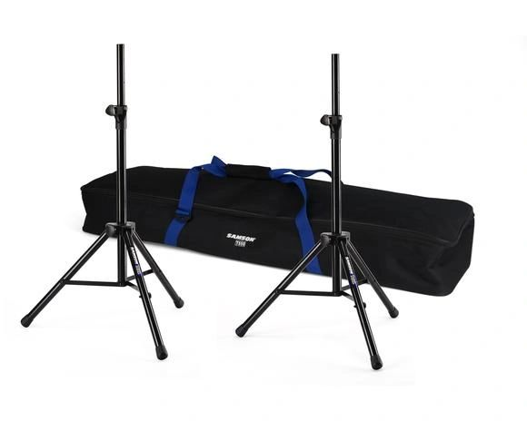 Samson TS50P 2 Pack Speaker Stands with Carry Cag