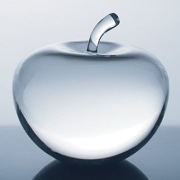 Optical Crystal Apple