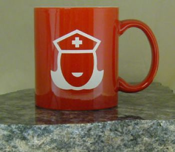 11oz Duotone Red Mug