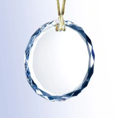 Round Optical Crystal Glass Ornaments