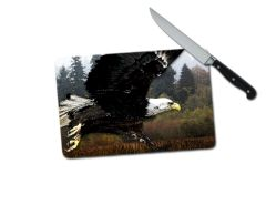 Eagle Small Tempered Glass Cutting Board