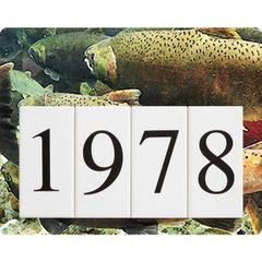 Fish Address Sign Small