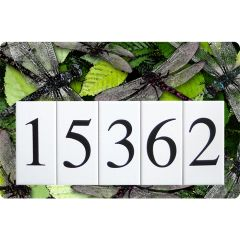 Dragonfly Address Sign Large