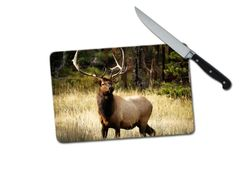 Elk Small Tempered Glass Cutting Board