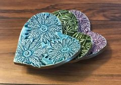 Natural Accents Nevele Studio Pottery Art Ring Dishes Available on Etsy (Click on the picture for more info)