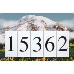 Mountain Address Sign Large
