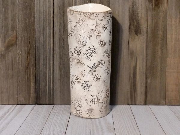Hand Built Large Pottery Vase 1