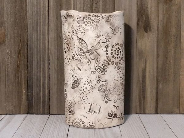 Hand Built Large Pottery Vase 2