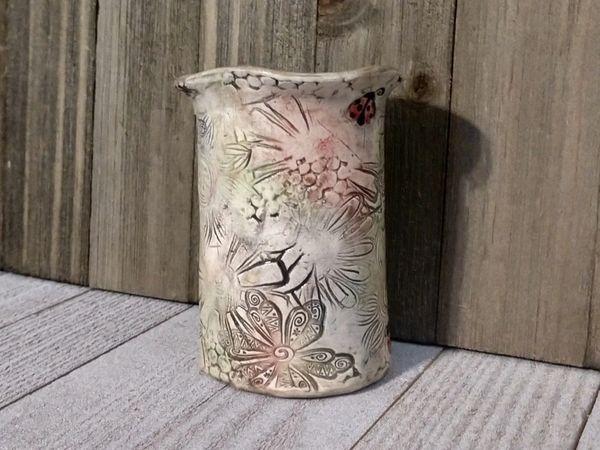 Hand Built Medium Pottery Vase 2