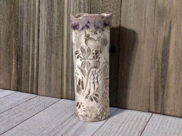 Hand Built Medium Pottery Vase 4