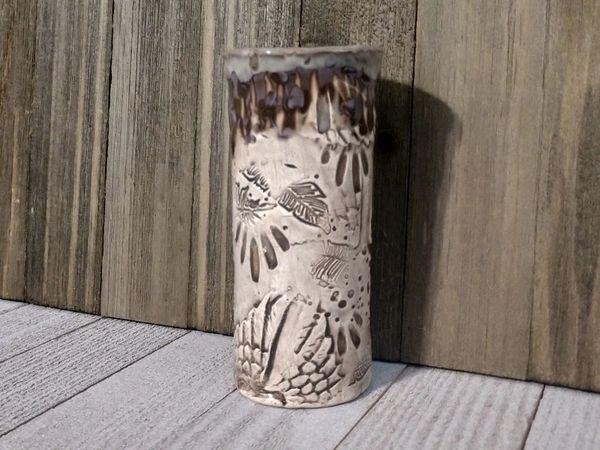 Hand Built Medium Pottery Vase 5