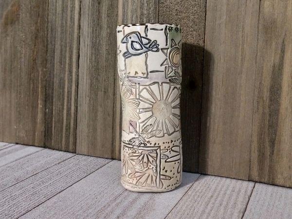 Hand Built Medium Pottery Vase 6