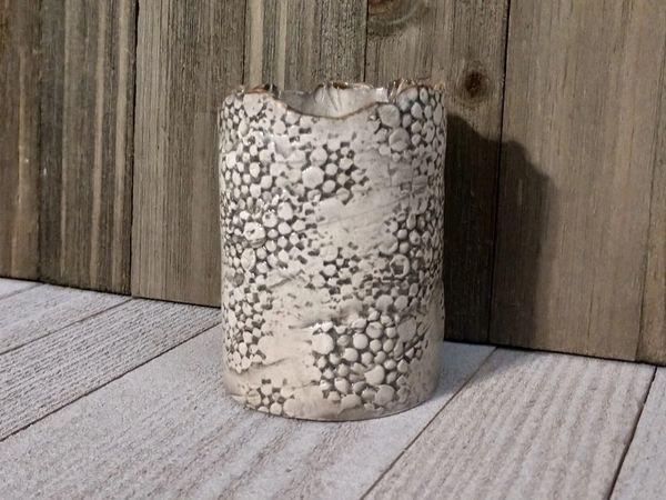 Hand Built Medium Pottery Vase 9